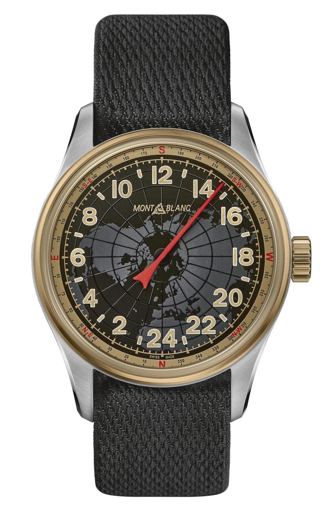 ساعة 1858 أوتوماتيك من مون بلان
