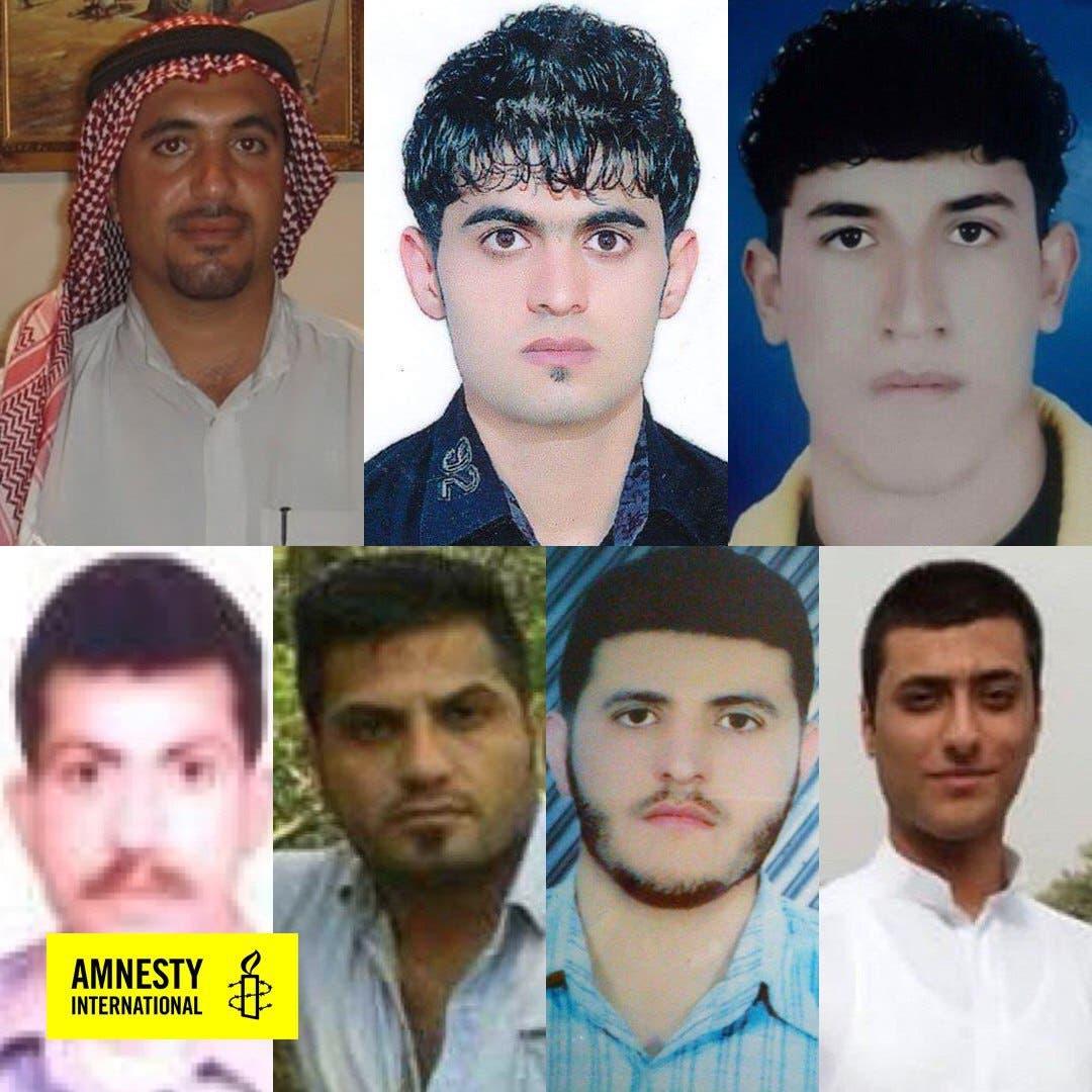 عدد من السجناء السياسيين الأهوازيين
