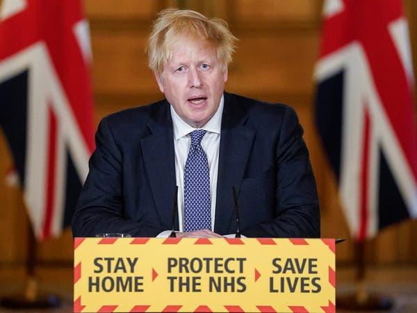 """جونسون: بريطانيا """"تخطت ذروة"""" كوفيد-19"""