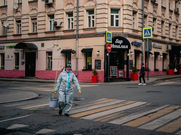 10 آلاف إصابة بيوم واحد في روسيا.. و50 % بلا أعراض