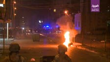 Minor protests break out in Lebanon in third night of unrest, Sidon c. bank torched