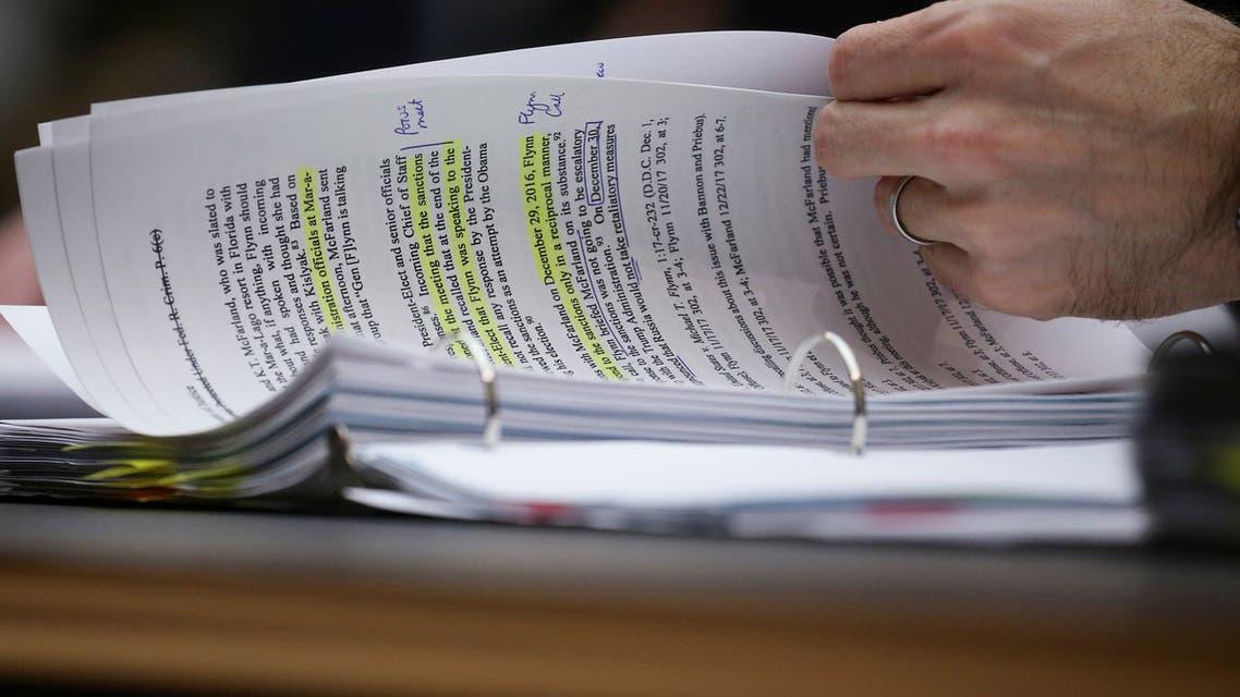 وثائق تكشف دفع مايكل فلين إلى الكذب (أرشيفية- رويترز)