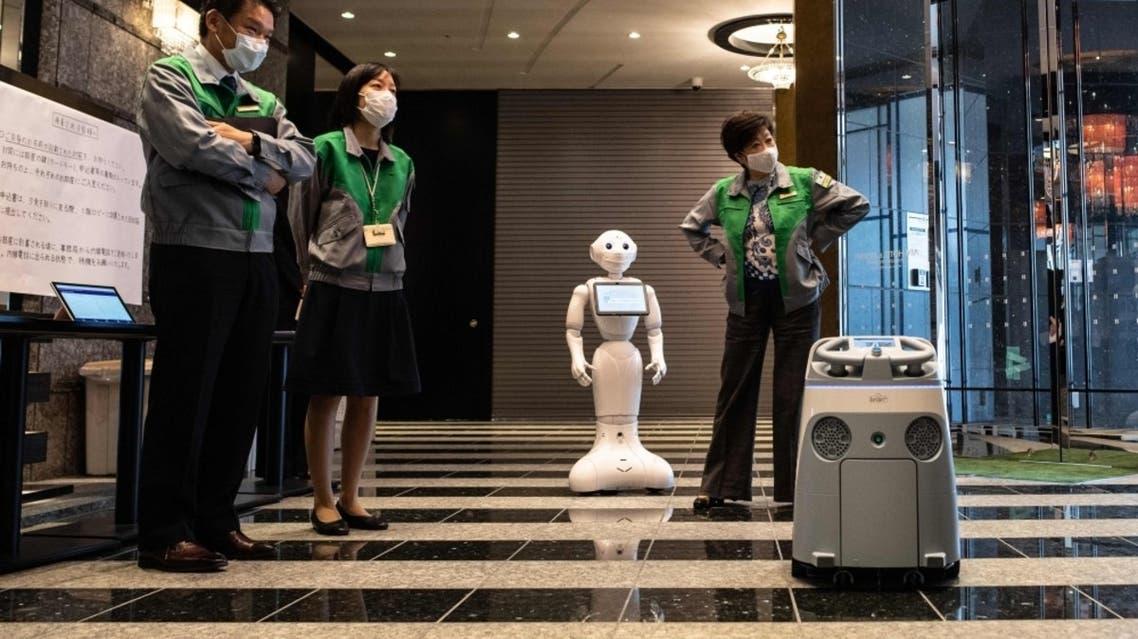 روبوت ياباني كورونا