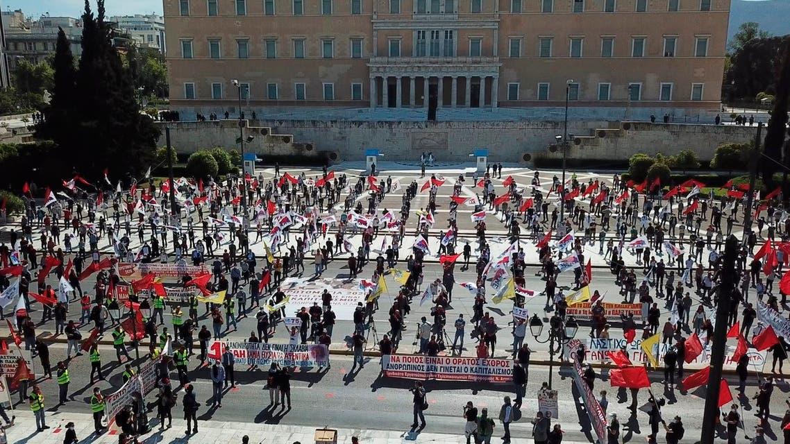 من أثينا يوم 1 مايو 2020