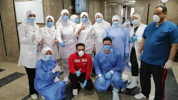 ممرضات يروين تفاصيل أيام رمضان بمستشفى عزل في مصر