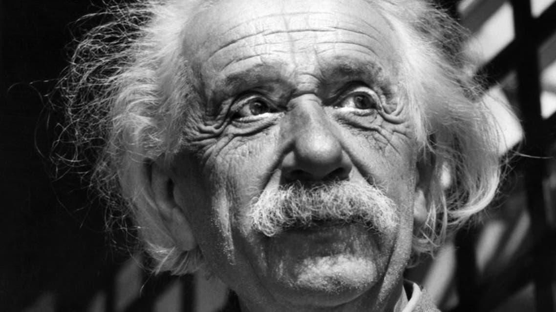 1954 photo of physicist Albert Einstein. (File photo: AP)
