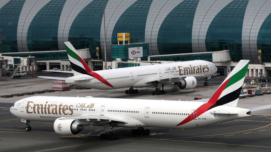 Emirates planes seen at Dubai International Airport. (File photo: Reuters)