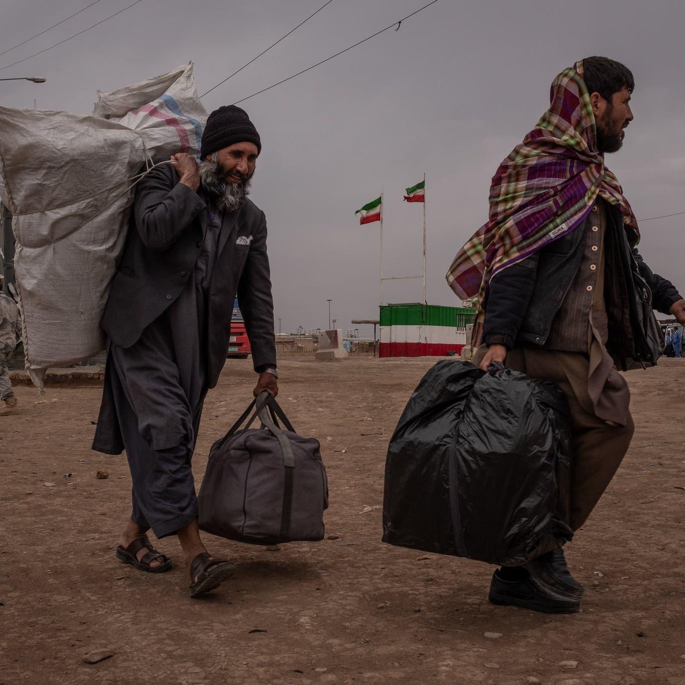 """""""المهاجرون الأفغان"""" مجددا..أطفال رماهم حرس إيران بالنهر"""
