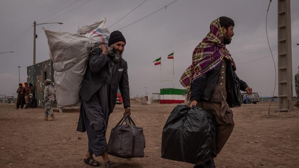 مهاجرون أفغان