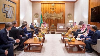 السعودية.. ما قصة لوحة لولوة الحمود الموجودة بمكتب ولي العهد
