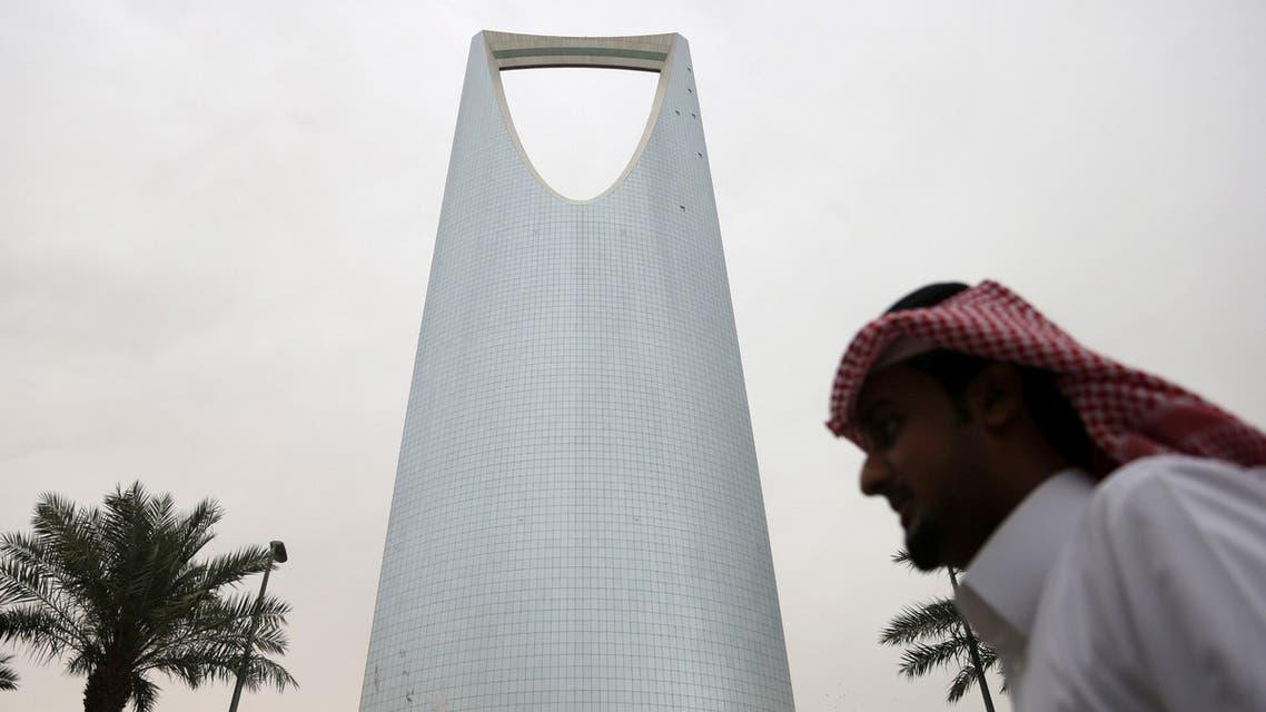 A man walks past the Kingdom Centre Tower in Riyadh, Saudi Arabia. (File photo: Reuters)