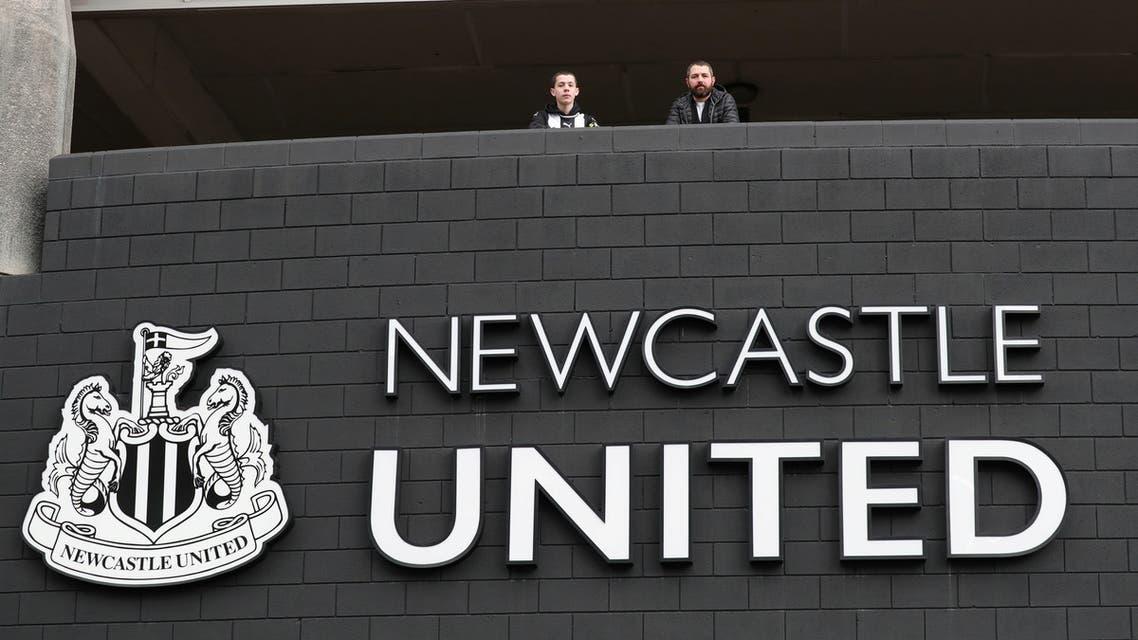 The logo of football team Newcastle United. (File photo: Reuters)