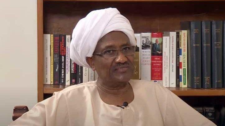 صورة للسفير نورالدين ساتي حسب ما نشرته مواقع سودانية