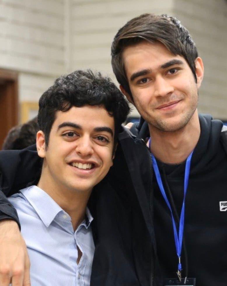 الطالبان علي يونسي وأمير حسين مرادي