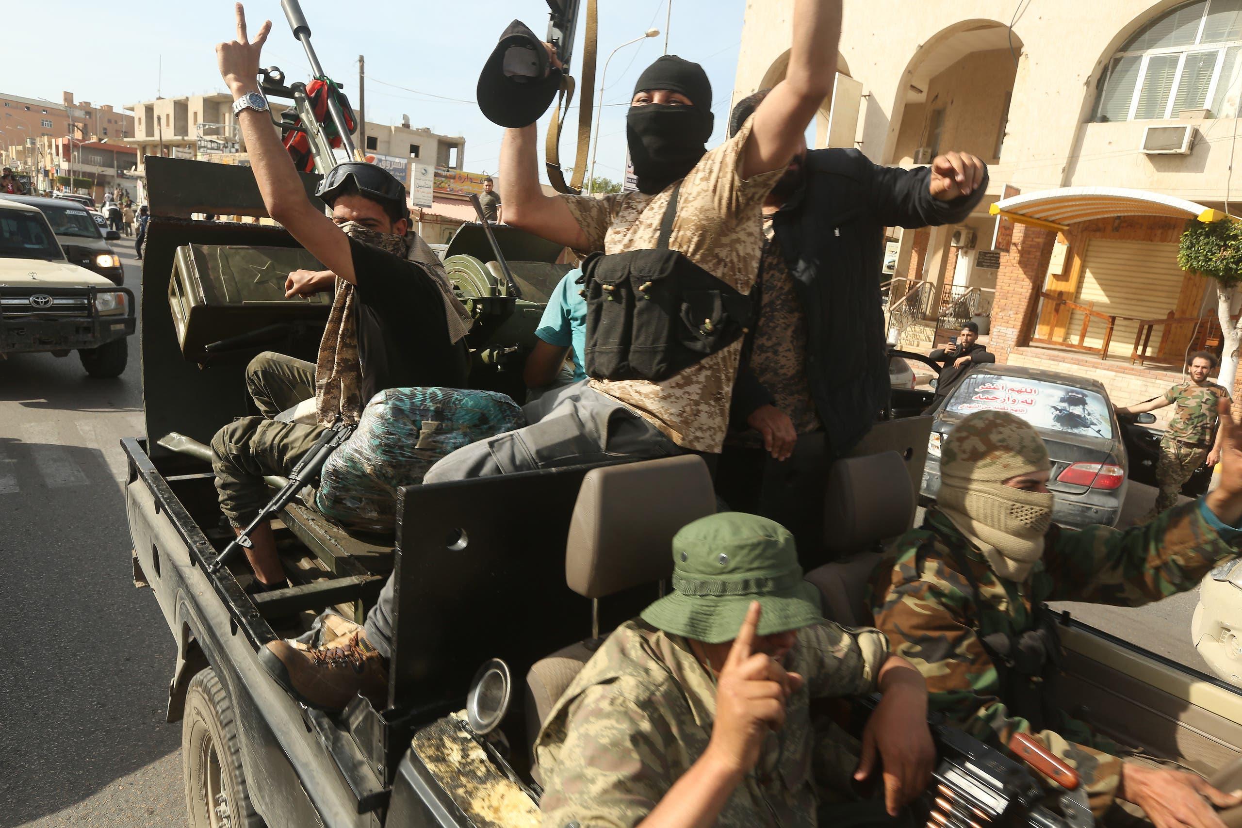 فصائل وميليشيات موالية لحكومة الوفاق في طرابلس (أرشيفية- فرانس برس)