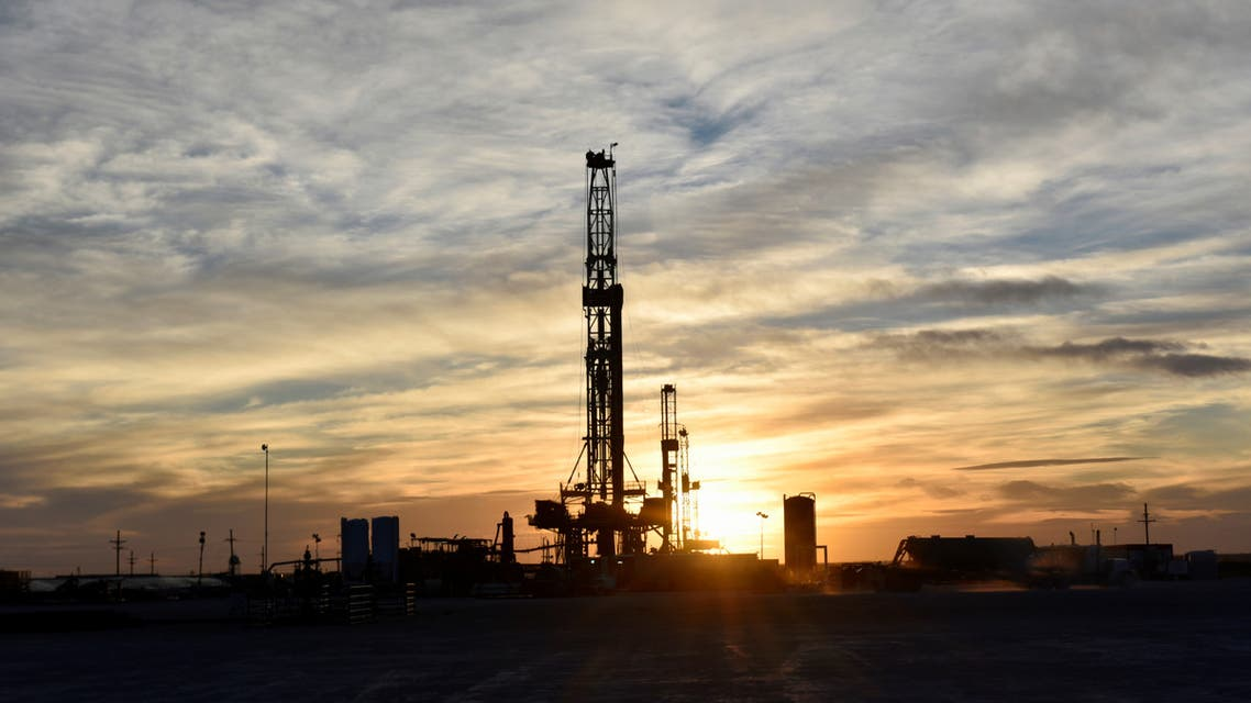 Drilling rigs operate at sunset in Midland, Texas, US. (File Photo: Reuters)