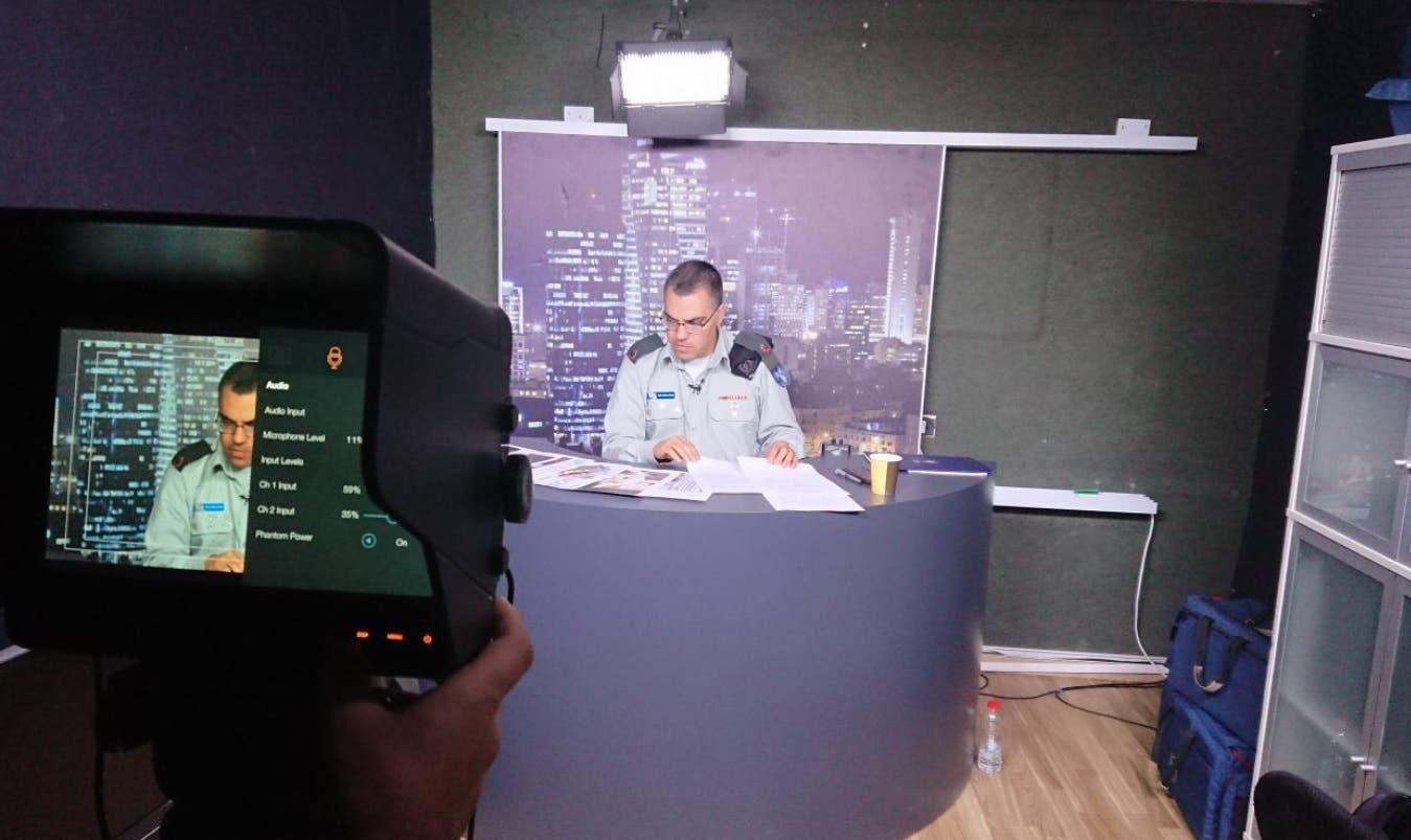 Israel Defense Forces spokesperson for Arabic Media Avichay Adraee on Al Jazeera's The Opposite Direction. (Twitter)