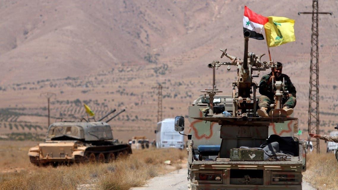 قوات من ميليشيا حزب الله في سوريا
