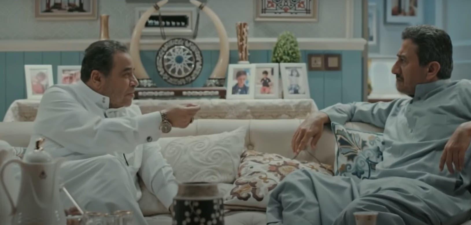 Rashid al-Shamrani and Nasser al-Qasabi (R) on Makhraj 7. (Screengrab)