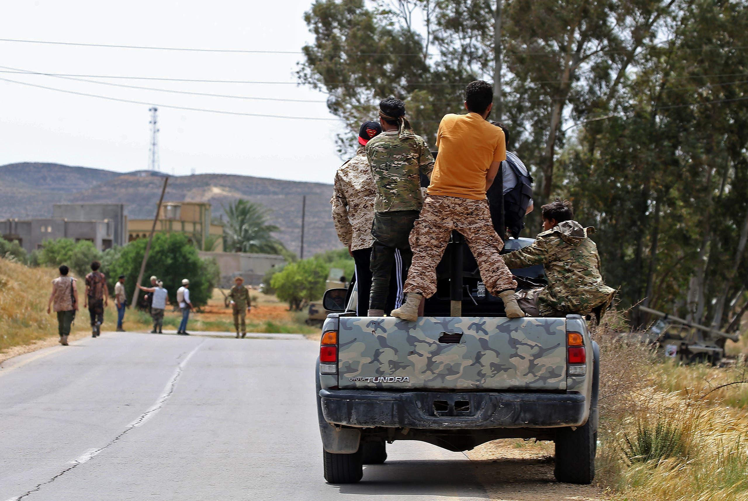 مزدوران دولت الوفاق لیبی