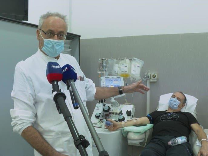 مستشفى سان ماتيو الإيطالي يعتمد نظرية حقن البلازما في عروق المصابين بكورونا