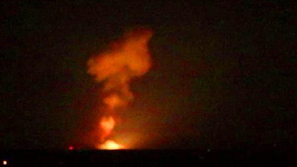 أحدث الغارات الاسرائيلية على التواجد الإيراني بسوريا كان الاثنين