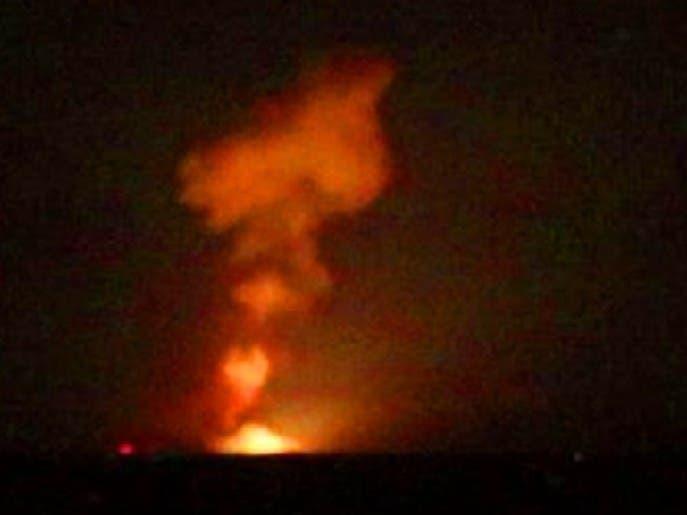 مجدداً.. طائرات مجهولة تستهدف ميليشيات إيران في سوريا