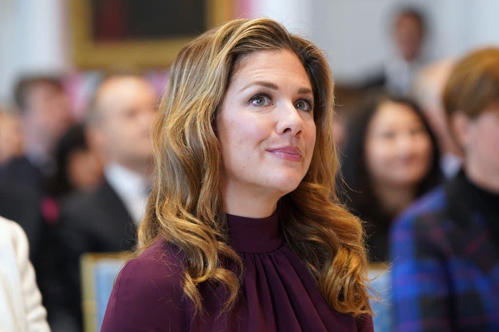 زوجة رئيس الوزراء الكندي ترودو