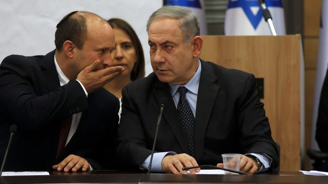 Israel's Defense Minister Naftali Bennett