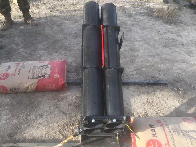 سقوط صاروخ كاتيوشا في مطار بغداد