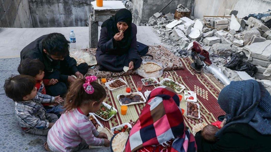 إفطار سوريا إدلب