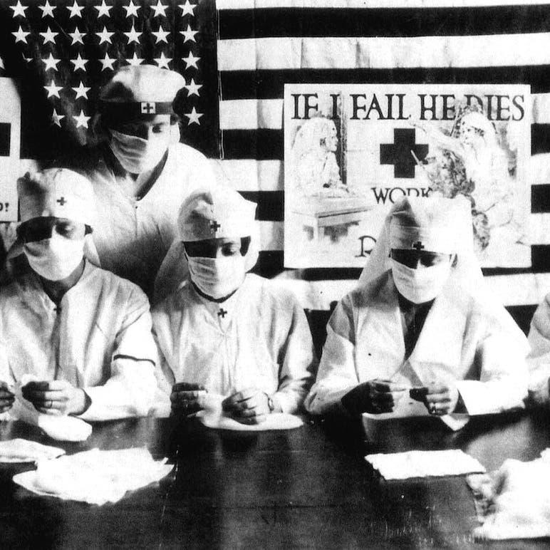 لماذا قاوم الأميركيون الأقنعة الطبية بالقرن الماضي؟