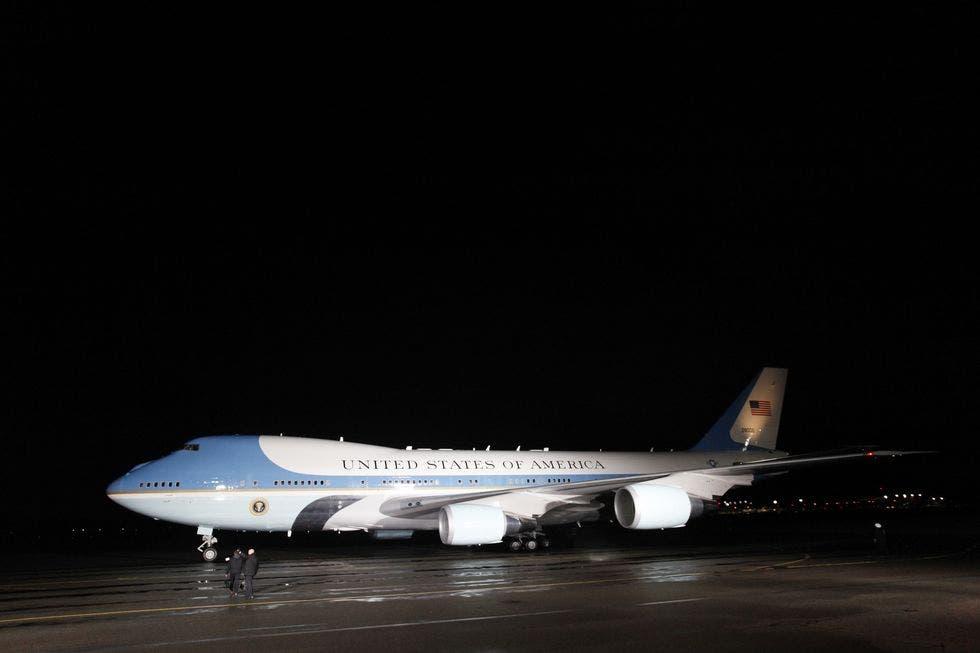 طائرة الرئيس دونالد ترمب