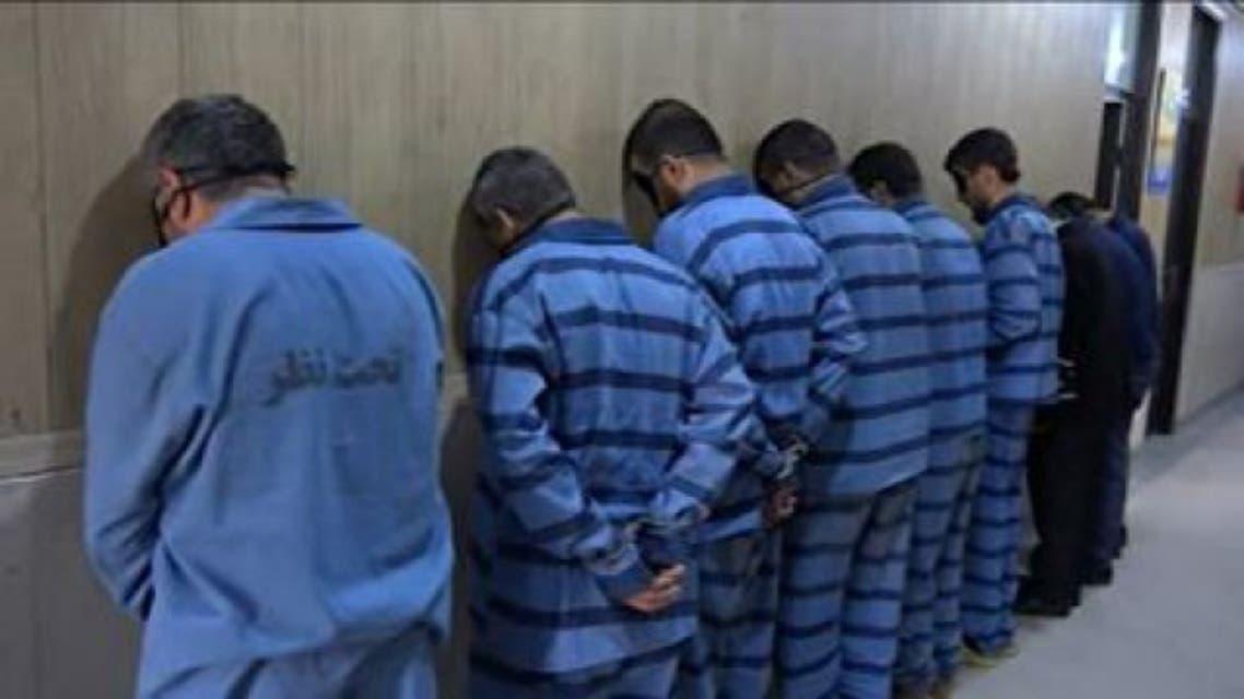 التلفزيون الايراني ينشر  تقريرا عن المجموعة الاهوازية