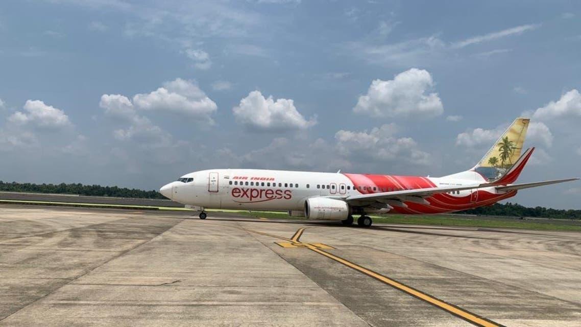 طائرة الخطوط الهندية التي ستقل الرعايا من أبو ظبي إلى كيرالا