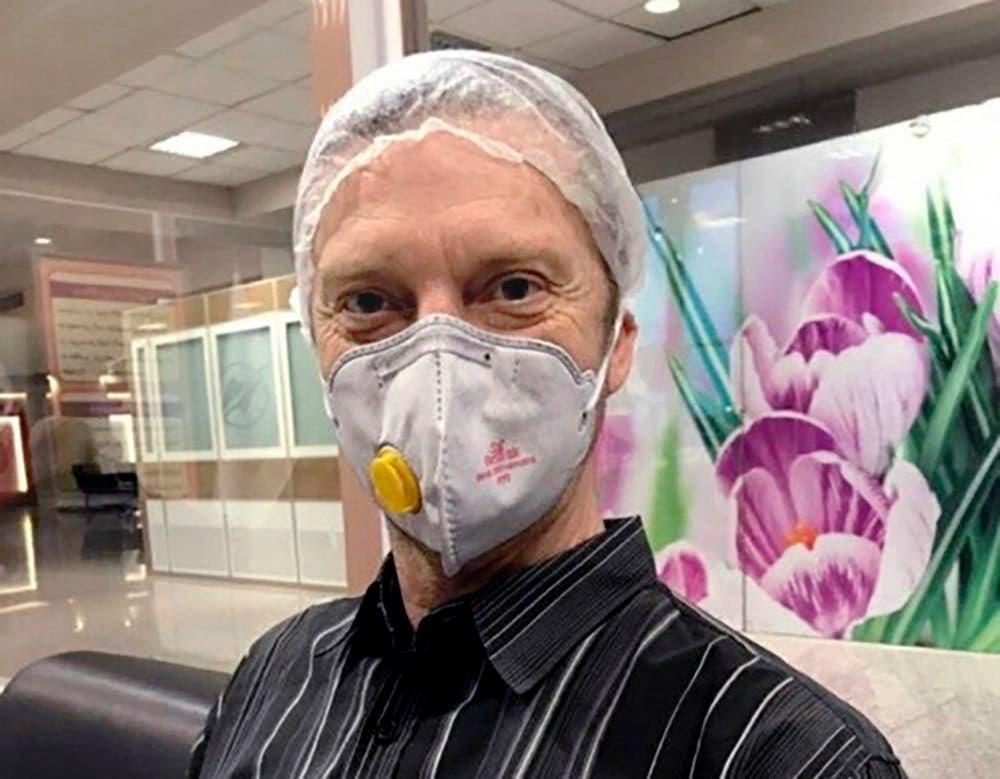 الأميركي مايكل وايت (48 عاما) الذي احتجز فى إيران منذ عامين