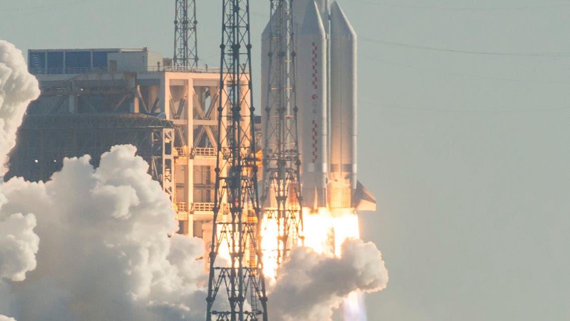 صاروخ فضاء صيني (فرانس برس)