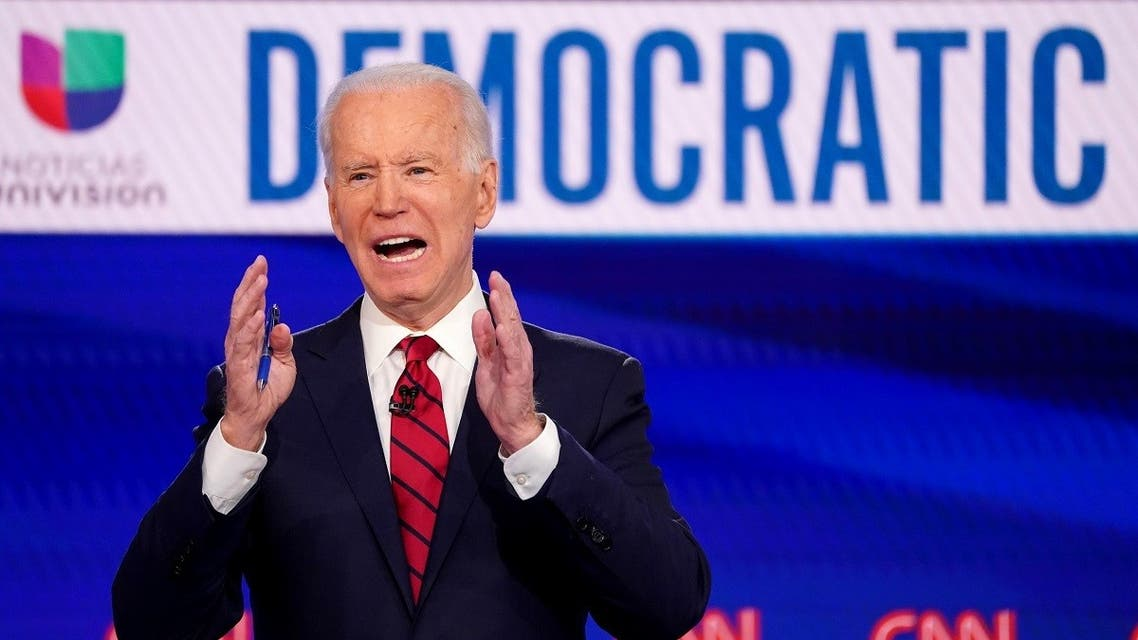 Democratic US presidential hopeful and former Vice President Joe Biden speaks at the 11th Democratic debate. (File photo: Reuters)
