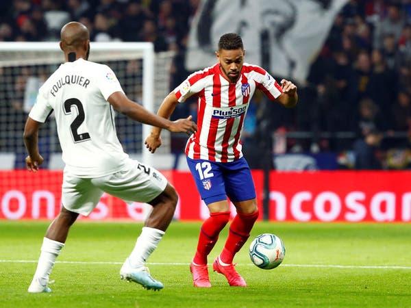 إصابة ظهير أتلتيكو مدريد بكورونا
