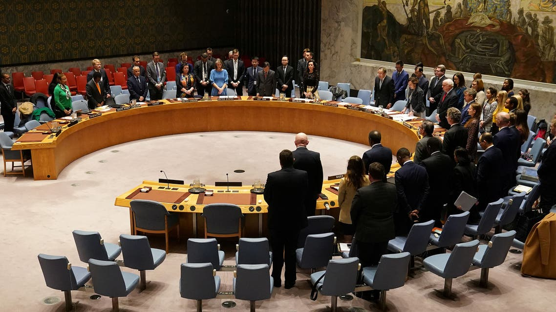 Members of the United Nations Security Council at the UN Headquarters, March 10, 2020. (File photo: Reuters)