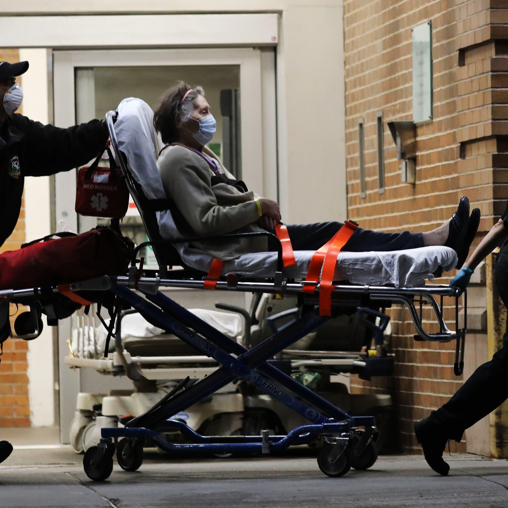 كورونا.. 2400 وفاة جديدة بأميركا وإصابة واحدة في الصين