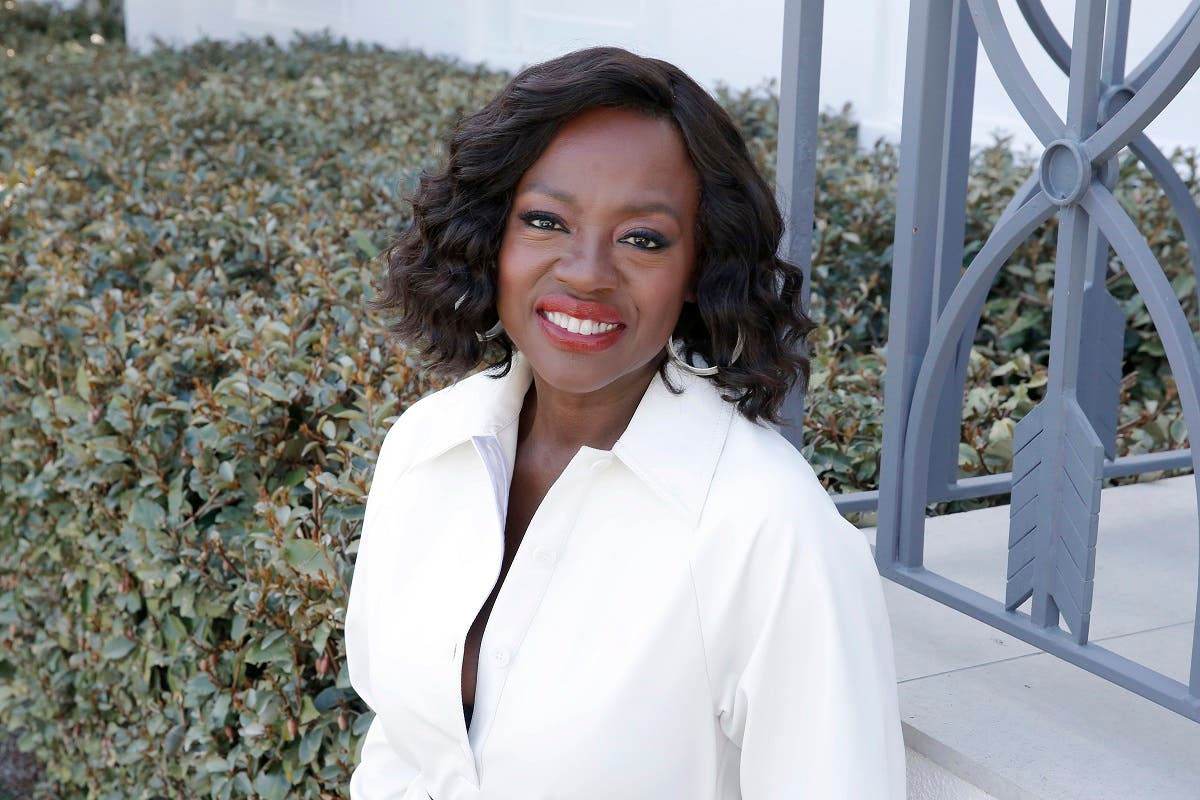 Viola Davis joins LOréal Paris to celebrate the launch of Age Perfect Cosmetics on March 03, 2020 in Beverly Hills, California. (AFP)