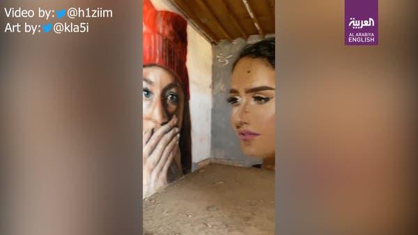 Take a look at the artwork of graffiti artist Klakh, 'Saudi Arabia's own Banksy'