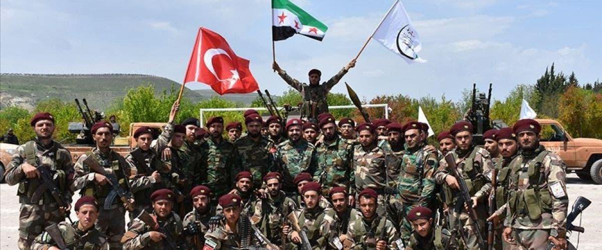مرتزقة سوريون