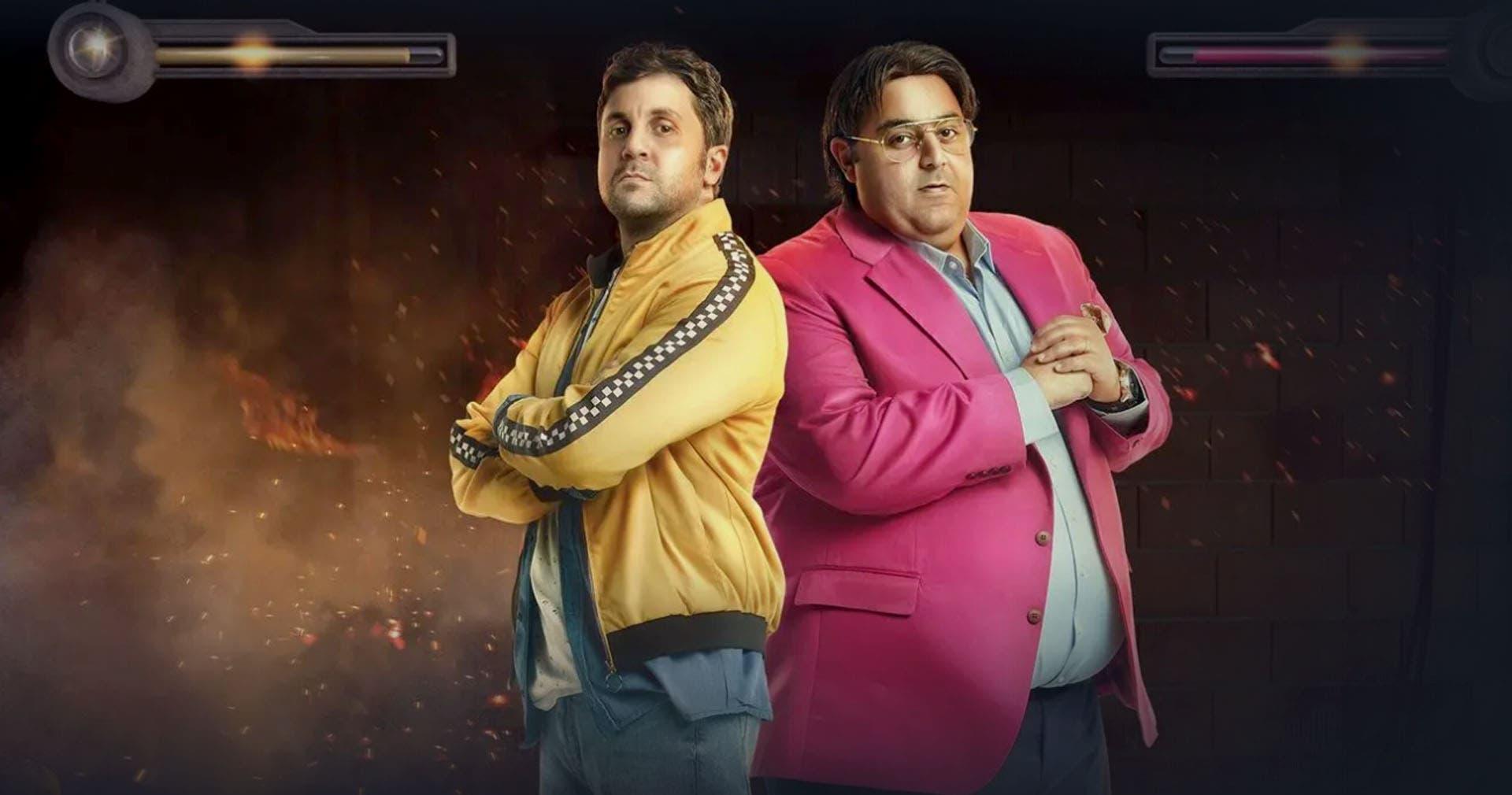 شيكو وهشام ماجد من مسلسل اللعبة