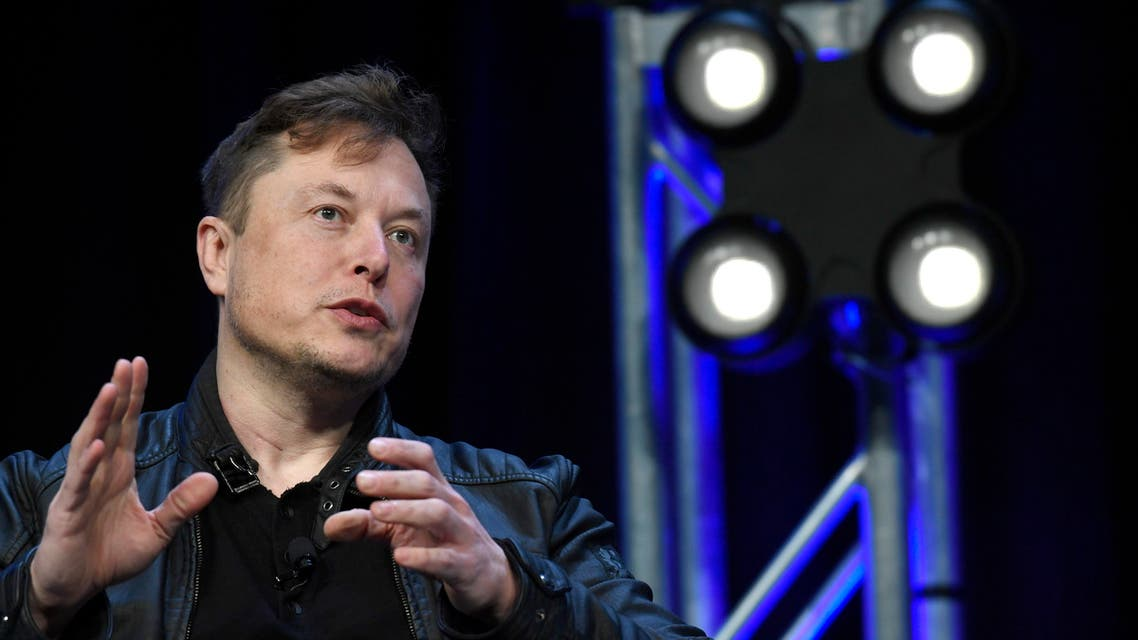 Tesla and SpaceX Chief Executive Officer Elon Musk speaks at the SATELLITE Conference and Exhibition in Washington, on March 9, 2019.  (AP)