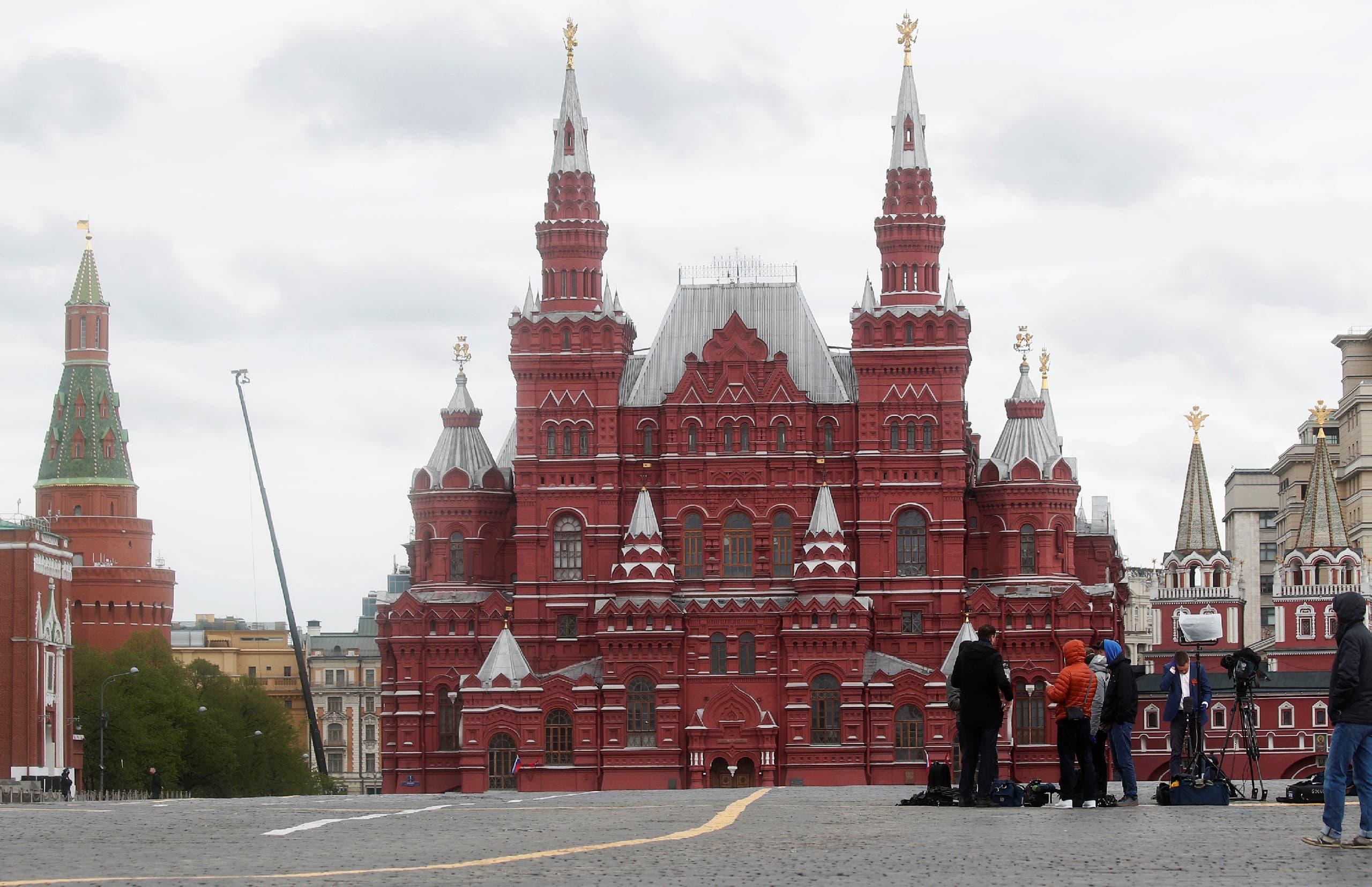 الميدان الأحمر - روسيا