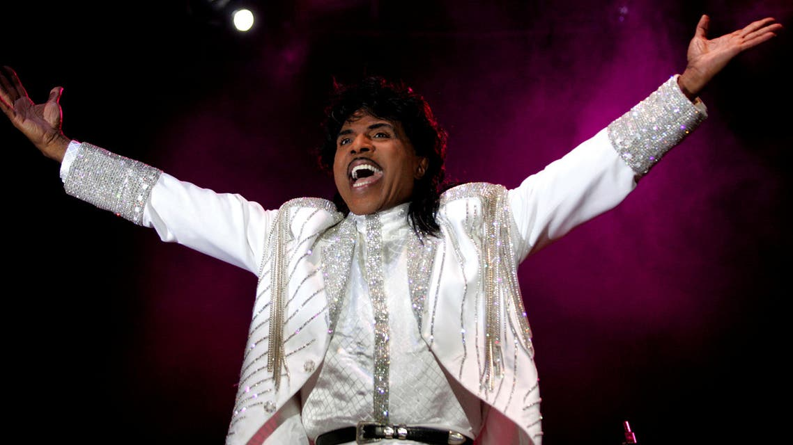 Entertainer Little Richard performs at the Crossroad festival in Gijon, northern Spain, July 23, 2005. (Reuters)