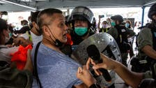 Mother's Day protests in Hong Kong bring out riot police