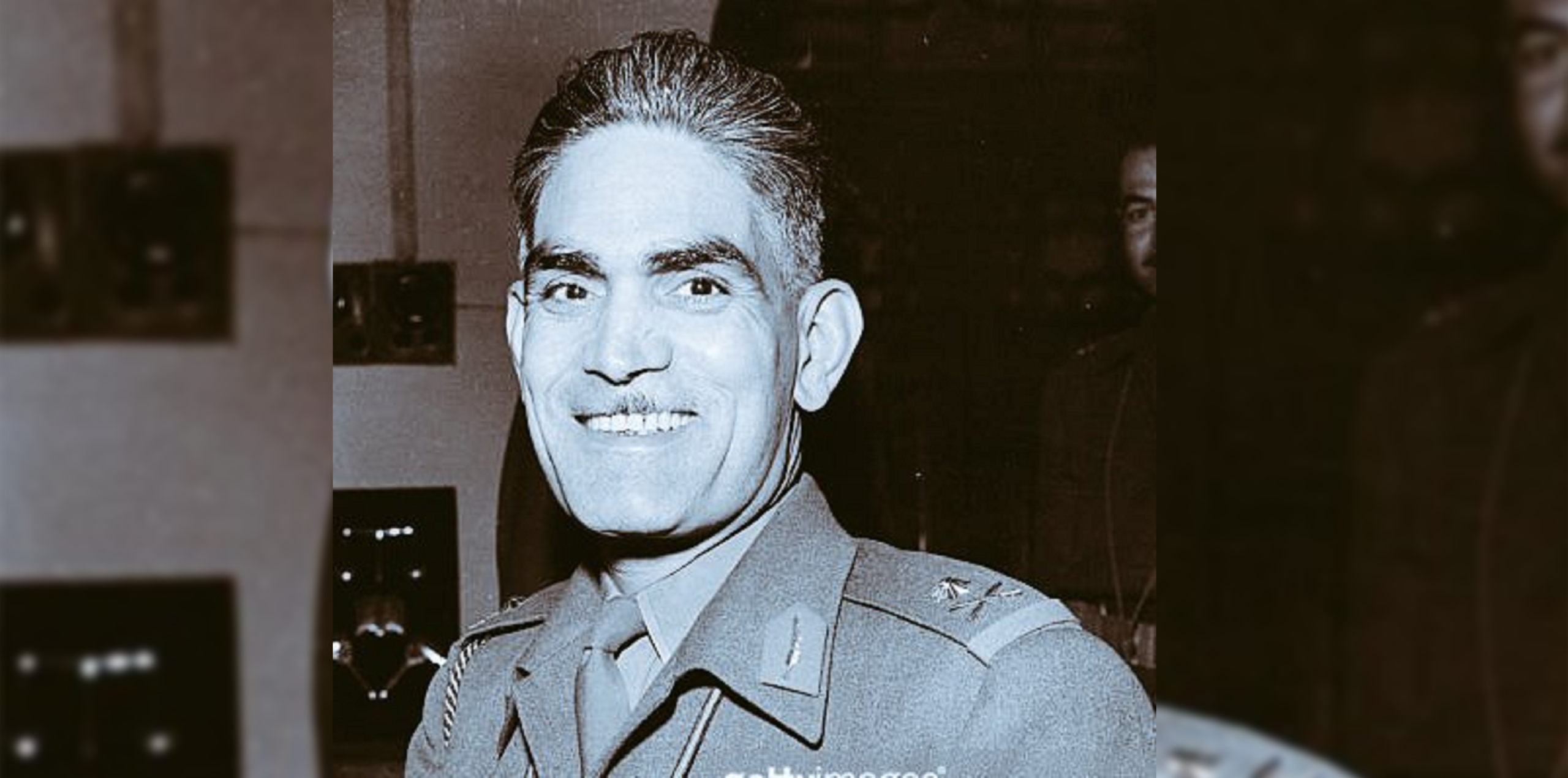 Col. Abd al-Karim Qasim, who launched the 1958 coup. (Twitter, @mometov)